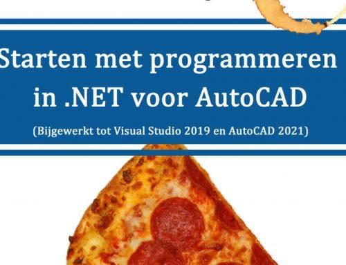 Nieuwe druk: Programmeren voor AutoCAD