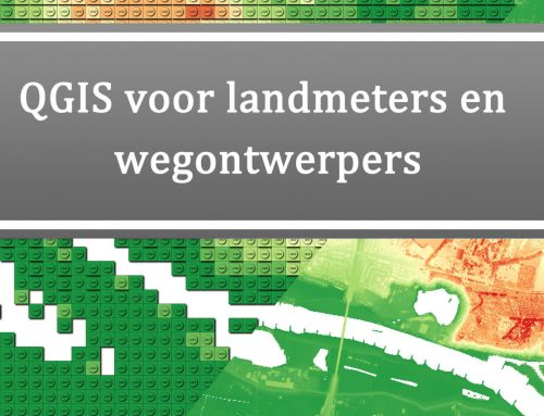 Monochrome versie van QGIS voor landmeters en wegontwerpers