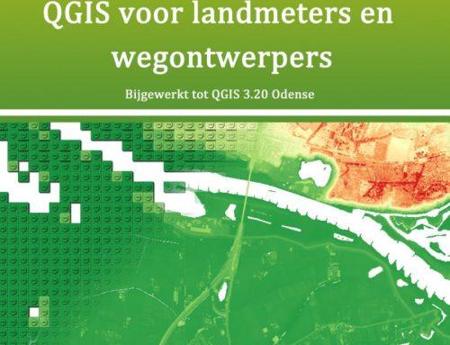 Nieuwe druk: QGIS voor landmeters en wegontwerpers